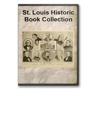 St. Louis, MO Missouri History Culture Family Tree Genealogy 24 Book Set - D21