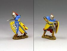 KING & COUNTRY MEDIEVAL KNIGHTS & SARACENS MK057 SIR ROGER DE TOLKINGHORN MIB