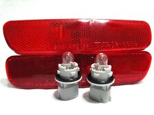 For 99-03 RX300 REAR Side Marker Light Lamp RL H One Pair W/2 Bulbs NEW