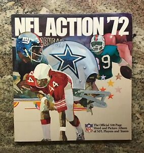 1972 Sunoco Football Stamps, Complete Set plus Album, Roger Staubach Rookie