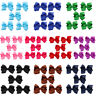 5 Packs Baby Kids Girls Hair Clips Bows Ribbon Headwear Hair Accessory Hairpins