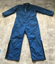 Vintage Rare Unitog Blue Coveralls Insulated Made In Usa Size X Large Regular