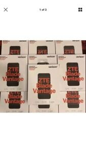 BRAND NEW SEALED Lot Of 15 ZTE Blade Vantage 4G LTE Verizon Prepaid phones