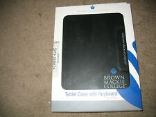 Brown Mackie College Tablet Case for IPad with Keyboard