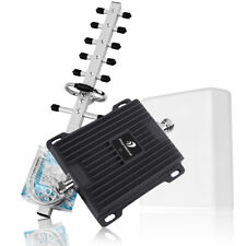 3G 4G LTE Cell Phone Signal Booster Repeater Kit 1700MHz Home Band 4 Data Voice