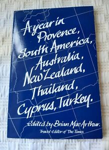 A Year in Provence, South America, Australia......A Travel Book from The Times