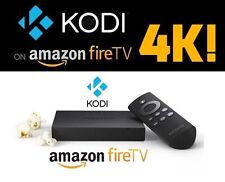KODI 17.1 installed 4K Amazon Fire TV Box with the BEST BUILD EVER