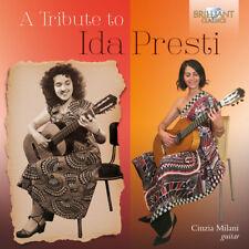 Tribute To Ida Presti - Abloniz / Milani (2017, CD NIEUW)