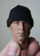 "1/6 Scale Male Female Beanie Cap Hat Black Clothes Accessory F 12"" Action Figure"