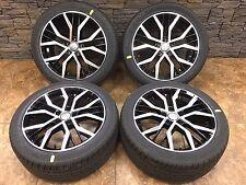 "18"" 18 Inch Audi S Line Replacement Machine Black Wheels Rims 18x8.0 5x112 4-Set"
