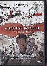 WORST CASE SCENARIO WITH BEAR GRYLLS DVD  3 EPISODES