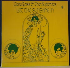 THE SUPREMES - LET THE SUNSHINE IN 1973 WORLD REC CLUB S-5436 AUS VINYL