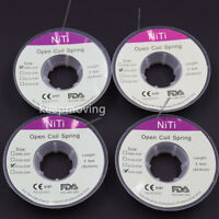 1 Roll Dental Orthodontic Niti Open Coil Spring 914mm Dia 0.008/0.010/.012/0.014