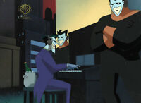 Batman the Animated Series Original Production Cel-Joker-Holiday Knights