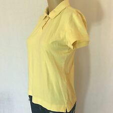 Talbots size s small Womens Blouse top yellow casual career juniors t shirt