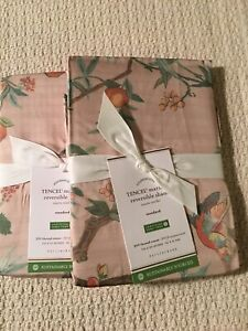 Set/2 Pottery Barn Mariella Reversible Standard Shams Gorgeous!!
