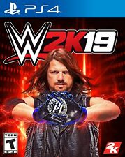WWE 2K19 PS4 for Sony PlayStation 4 2019 Wrestling Game  PS4  - NEW AND SEALED