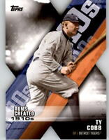 2020 Topps Series 1 TY COBB Decade of Dominance Die-Cut Tigers #DOD-8