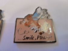 PIN'S TINTIN  ET  MILOU /  SMILE PLEASE