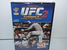 UFC Classics 2 (DVD, Canadian, Region 1 for USA/Canada) NEW - Extras - No Tax