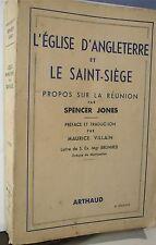 Spencer Jones, L' église d' Angleterre et le Saint-Siège…World FREE Shipping*