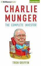 Charlie Munger : The Complete Investor by Tren Griffin (2016, CD, Unabridged)