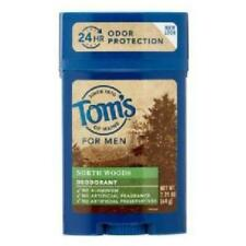 Tom's of Maine Men's Long Lasting North Woods Deodorant, 2.25 oz. 1DC9