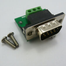 RS232 Adapter DB9 Male to 3Pin RXD TXD GND UART Serial Port  to Cable Terminal