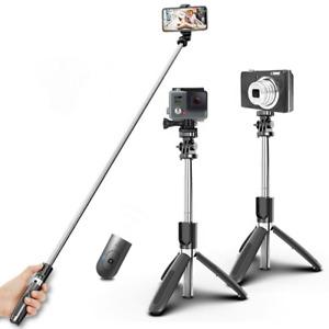 "Professional Selfie Stick Tripod Desktop Stand 40"" For iPhone Samsung GoPro"