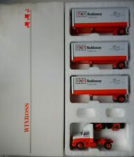 TNT Reddaway Triple 75th Ann Winross Diecast Truck & Trailers 1:64 042220DBT2