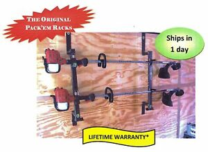 2 Place Lockable Weedeater Trimmer Rack Enclosed Trailer PK-6S/6S2/PK-5