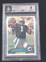 2011 Topps Chrome Refractor #1 Cam Newton SP BGS 9 MINT. FREE SHIPPING! INVEST🔥