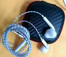 HOT vendita di lusso in-ear Auricolari con Custodia per Samsung, iPhone, iPod, HTC, Sony