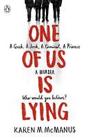 One Of Us Is Lying by Karen McManus (Paperback, 2017) 9780141375632