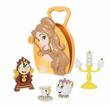 Disney Princess Beauty & The Beast Belle Playset Case with Characters