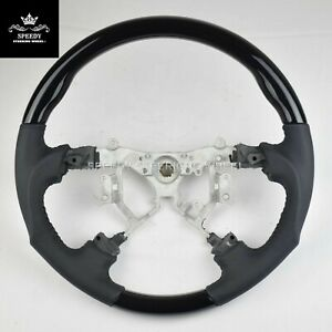 For TOYOTA TACOMA 2005-2011 Hydrodip + Leather steering wheel-black stitch