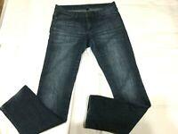 "GAP Womens Size 4 / 27R Distressed Premium Straight Jeans Stretch Inseam 32.5"""