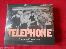 Coffret 3 CD TELEPHONE Platinium Collection Jean-Louis Aubert Louis Bertignac ..