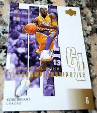 KOBE BRYANT 2002 UD NBA Championship Drive GOLD SP Champion Collection 36/125 $$