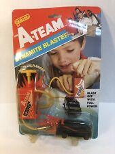 1983 Galoob The A-Team Dynamite Blaster Moc New