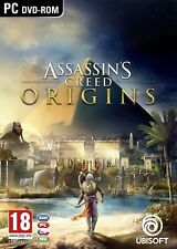 ASSASSIN'S CREED ORIGINS PC DVD BOX NEW SEALED PAL UK ENGLISH ASSASSINS SHOP