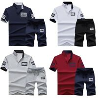 New Polo Shirt Men Tracksuit Short Sleeve Casual Summer Fashion Slim Fit Shirt