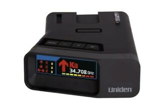 Uniden R7 Long Range Radar Detector with GPS - Black - Excellent!!