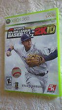 Major League Baseball 2K10 XBOX 360 Video Game E Everyone