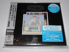 Led Zeppelin - Song Remains The Same Replica Card Sleeve 2007 1st Print RARE