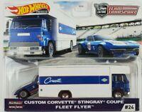 Hot Wheels 2020 Car Culture Team Transport Custom Corvette Stingray Fleet Flyer