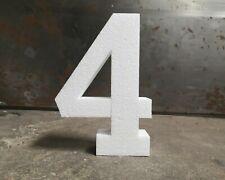 StyroZahl: 60x10 cm persönliche Zahl aus Styropor Geburtstag JubiläumHochzeit