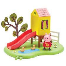 Peppa Pig de Exterior Diversión Slide Parque Infantil Con Figura Articulada Toy