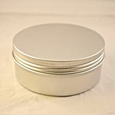 4oz Cosmetic Screw top Tins cosmetic crafts bead storage makeup lip balm (12ct)