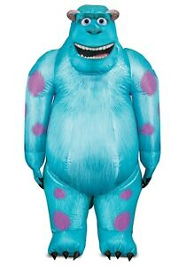 Adult Monsters Inc Sulley Inflatable Costume Size Standard (Used)